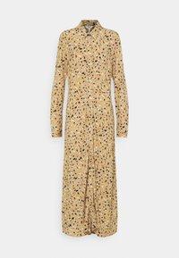 Object Tall - OBJLORENA LONG DRESS - Maxi dress - splash chi/hon/sky - 0