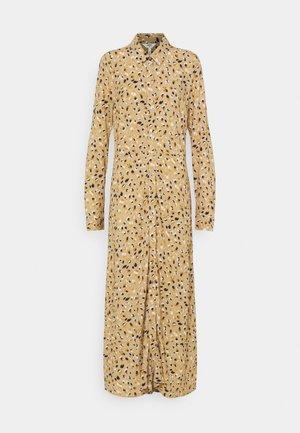 OBJLORENA LONG DRESS - Maxi dress - splash chi/hon/sky