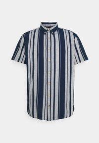 JOHAN BIG STRIPE - Shirt - navy
