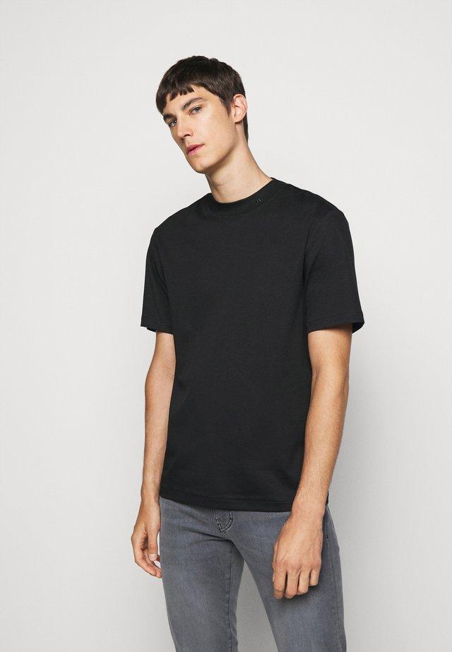ACE MOCK NECK - T-shirt basic - black