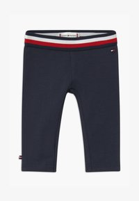 Tommy Hilfiger - BABY SOLID - Leggings - blue - 0