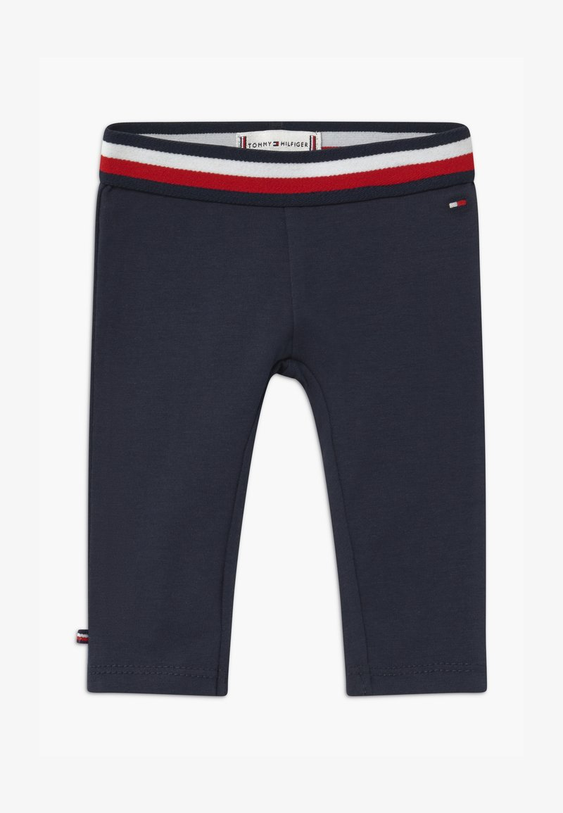 Tommy Hilfiger - BABY SOLID - Leggings - blue