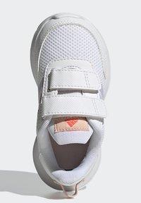 adidas Performance - TENSAUR RUN UNISEX - Neutral running shoes - ftwr white/purple tint/vapour pink - 3