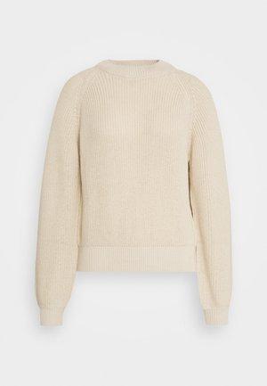 Pullover - sand melange