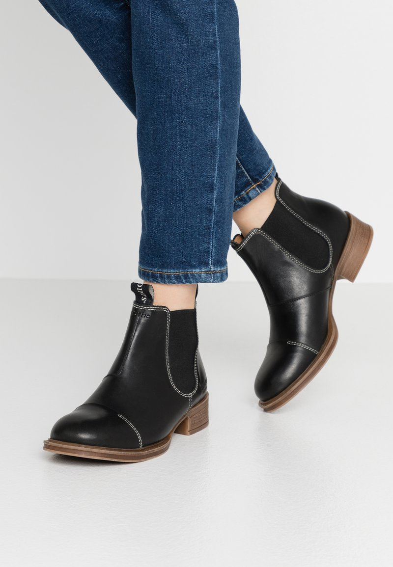 Ten Points - Ankle boots - black