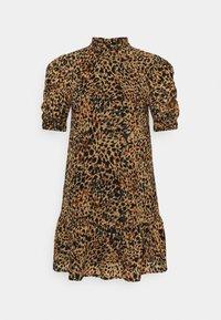 Object Petite - OBJELIZA SHORT DRESS - Day dress - honey ginger - 4