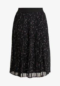 PLEATED ETEK - Pleated skirt - black/multi color