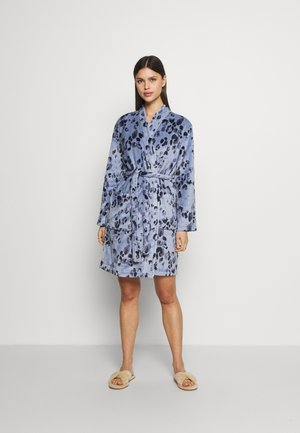 ANIMAL KIMONO - Dressing gown - blue mix