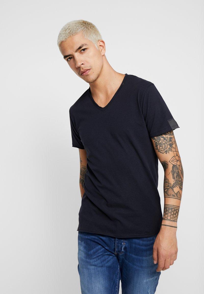 Replay - T-shirt - bas - midnight blue