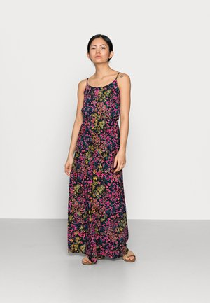 ONLNOVA LIFE DRESS - Maxi dress - dark blue/multi-coloured