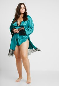 Playful Promises - SLEEVES - Badekåpe - teal - 1