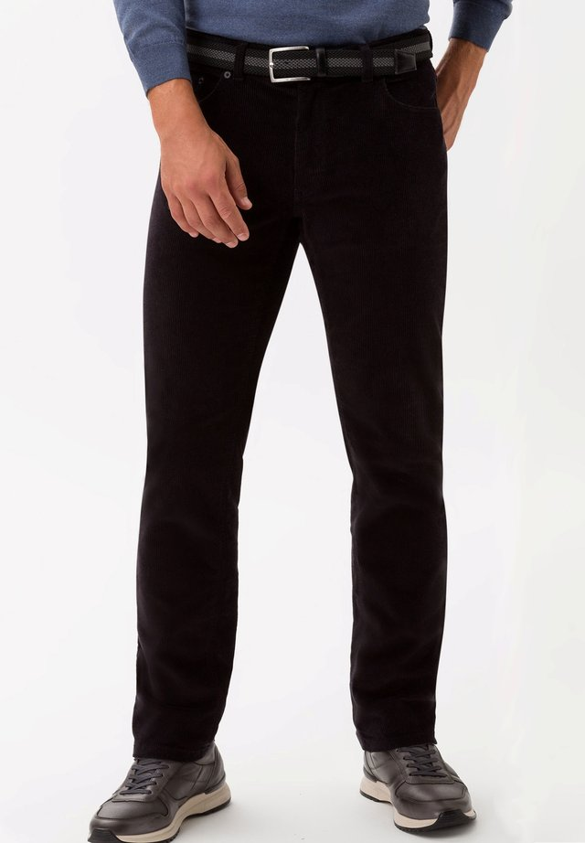 STYLE COOPER FANCY - Trousers - black
