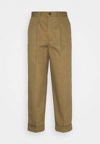 Les Deux - PRESTON PANTS - Tygbyxor - stone brown - 0
