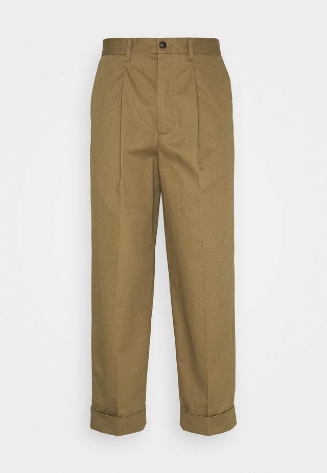 PRESTON PANTS - Trousers - stone brown