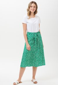 Sugarhill Brighton - ROSANNA PAINTERLY SPOT - A-line skirt - green - 0