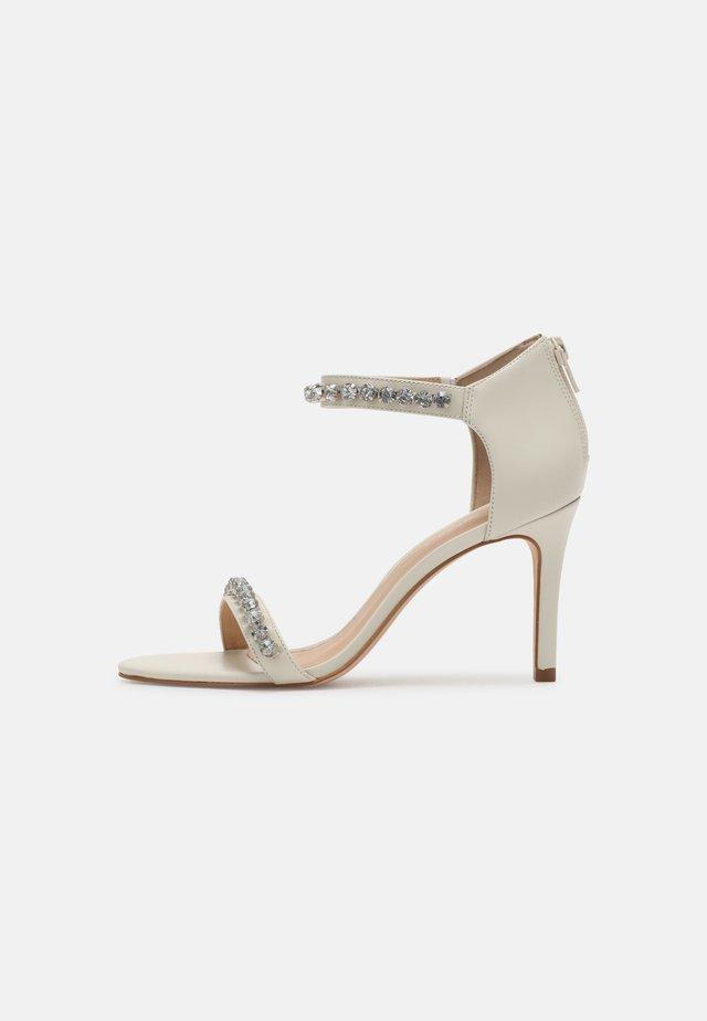 ZAZI - High heeled sandals - blanc