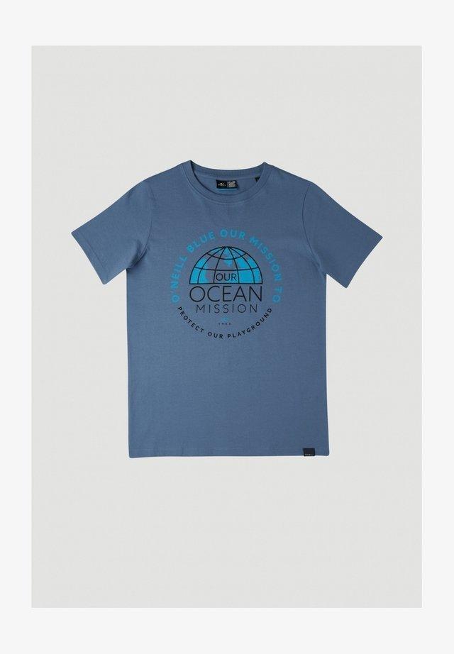 BANDA SEA - Camiseta estampada - walton blue