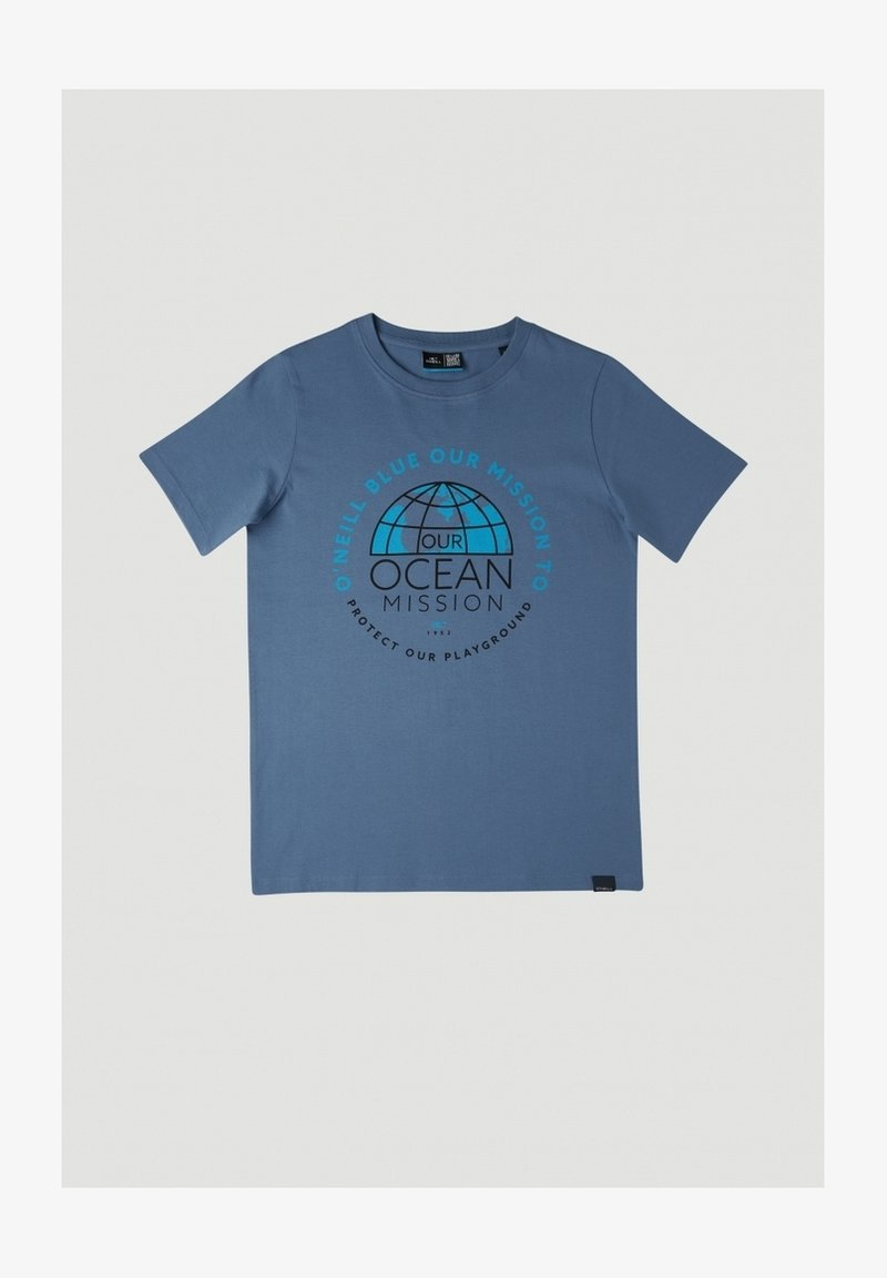 O'Neill - BANDA SEA - T-shirt print - walton blue