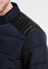 HARRINGTON - BIKER - Winter jacket - marine - 4