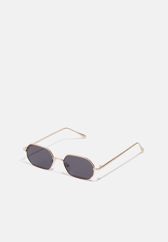 ONSSUNGLASSES BOX UNISEX - Sluneční brýle - black/gold-colooured