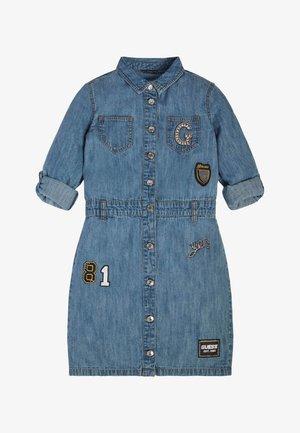 Sukienka jeansowa - blau