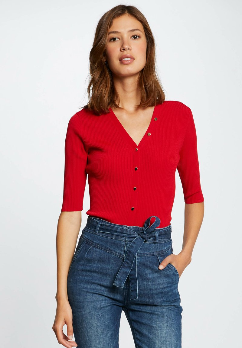 Morgan - Cardigan - red