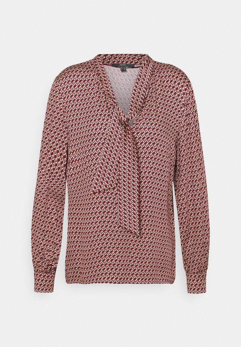 Esprit Collection - BLOUSE - Blouse - garnet red