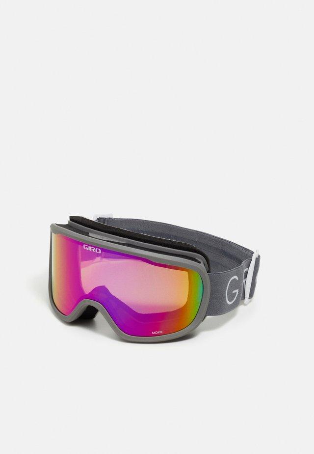 MOXIE - Skidglasögon - tit core lght amber pink/yell