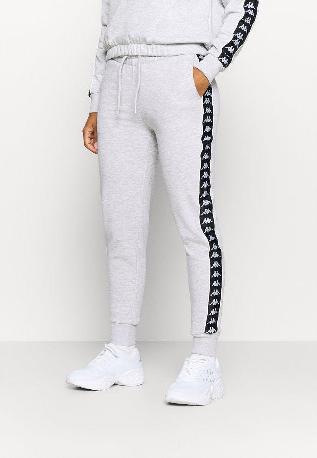 HARRIET - Teplákové kalhoty - mottled grey