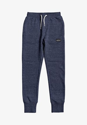NEW DROP CROTCH - Tracksuit bottoms - parisian night heather