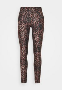 Guess - SEXY CURVE - Trousers - iconic leopard brown - 4