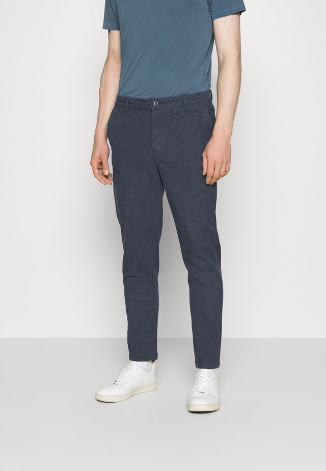 SLHSLIMTAPERED OREGON ANK PANTS - Broek - dark sapphire