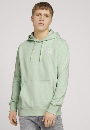 Hættetrøjer - smooth green