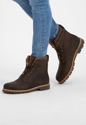 ESBJERG - Veterboots - dark brown