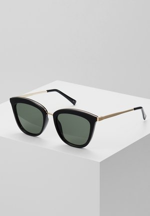 CALIENTE  - Gafas de sol - black/gold-coloured