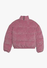 Tommy Hilfiger - BOXY PUFFER - Winter jacket - purple - 1