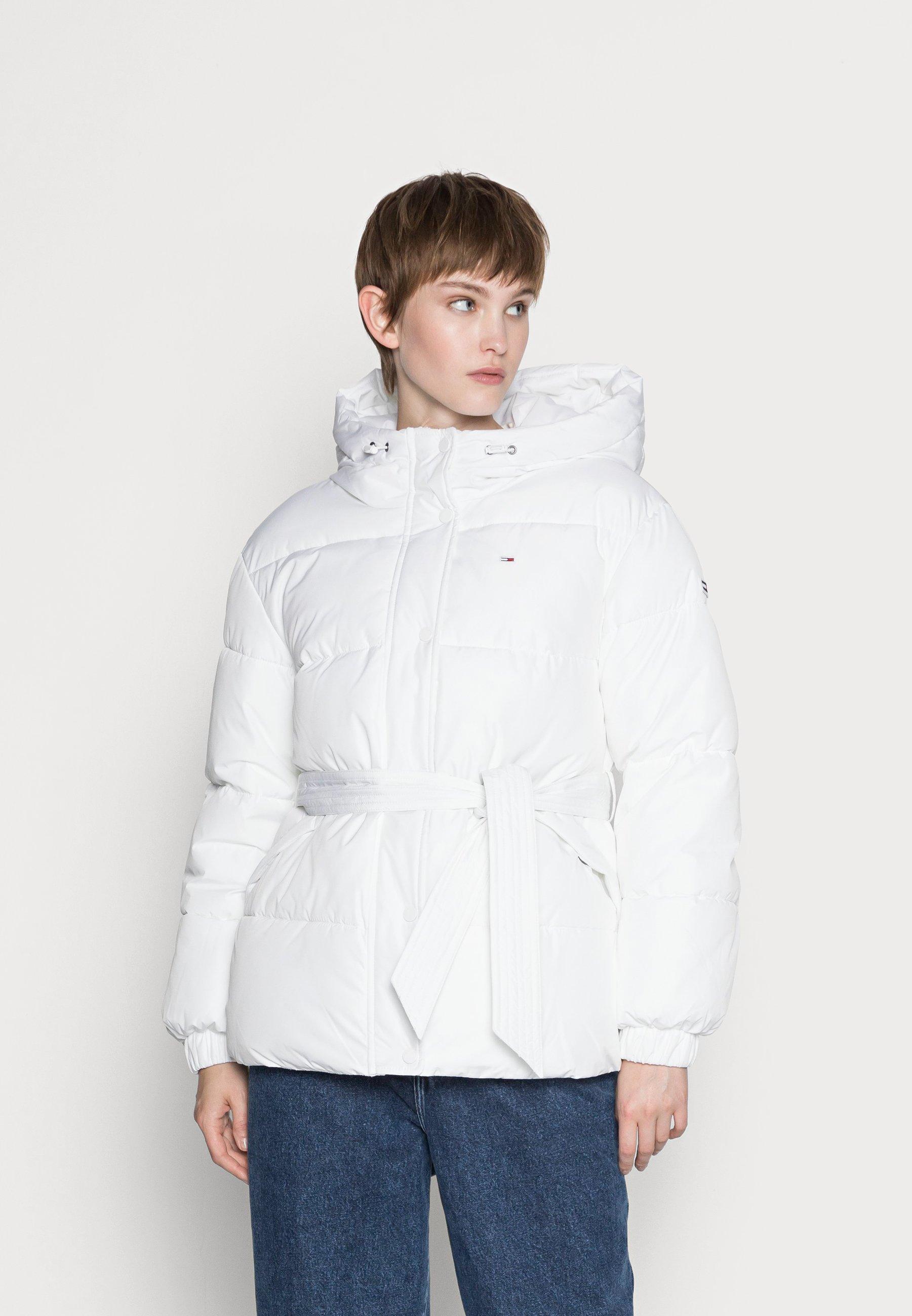 Women BELTED PUFFER - Winter jacket