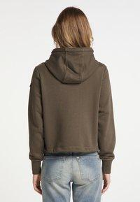 DreiMaster - Zip-up sweatshirt - militäroliv - 2