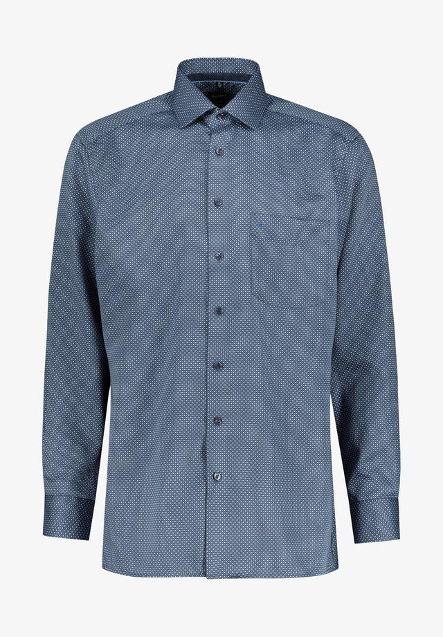 HERREN MODERN FIT LANGARM - Shirt - marine (52)