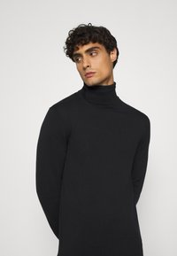 TOM TAILOR DENIM - BASIC ROLLNECK - Trui - black - 3