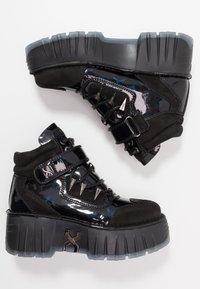 Bronx - MOON WALKK - High-top trainers - black - 3