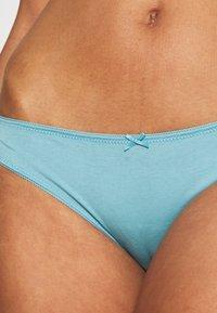 Etam - NINA 4 PACK - Slip - blue - 7