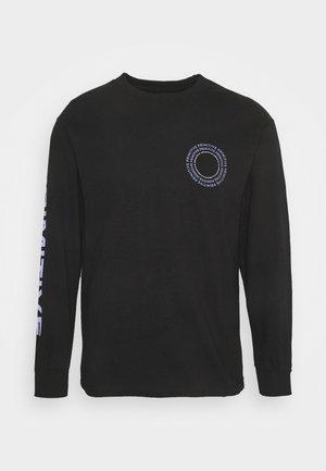 NEW PEACE TEE - Long sleeved top - black