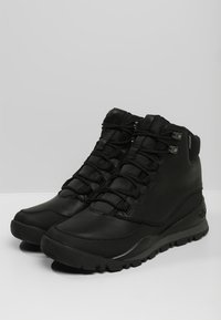 The North Face - EDGEWOOD 7   - Hiking shoes - black/dark - 2