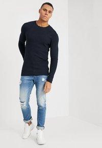 Gabba - REY - Slim fit jeans - blue denim - 1