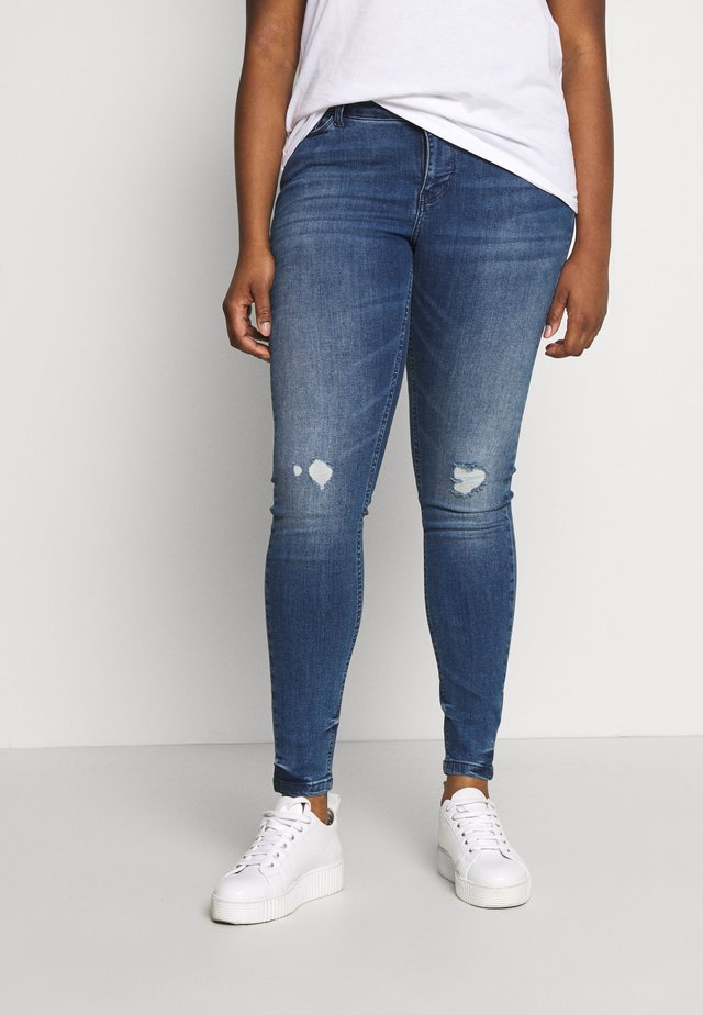 JRFOURMANELLA - Jeans Skinny Fit - medium blue denim