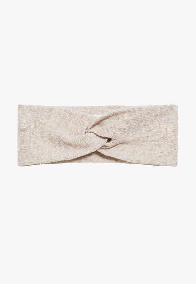 MARITAA - Ear warmers - light caramel melange