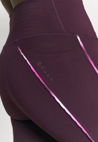 Under Armour - RUSH SCALLOP LEG  - Leggings - polaris purple - 3