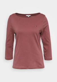 Tommy Hilfiger - Topper langermet - misty red - 3
