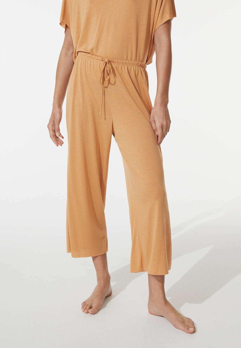 OYSHO - Pyjama bottoms - yellow